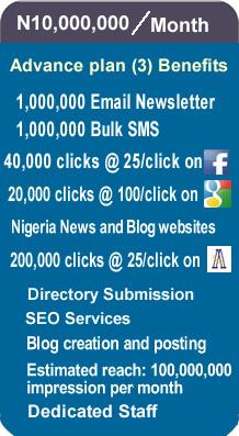 Online20Advertisement Nigeria plan 10000000