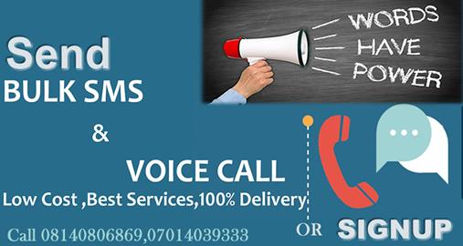 voice sms services nigeria